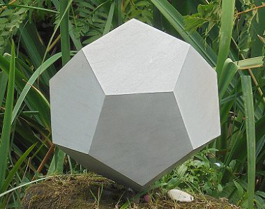 Jim Milner Geometric Sculpture Dodecahedron 2