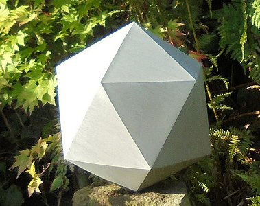 Jim Milner Geometric Sculpture Icosahedron