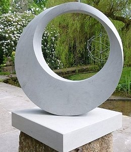 Jim Milner Geometric Sculpture Möbius IX