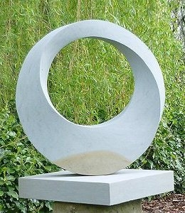 Jim Milner Geometric Sculpture Möbius VIII