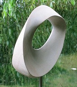 Jim Milner Geometric Sculpture Möbius Egg II