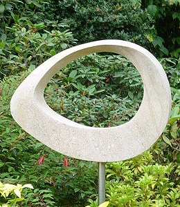 Jim Milner Geometric Sculpture Möbius Egg V