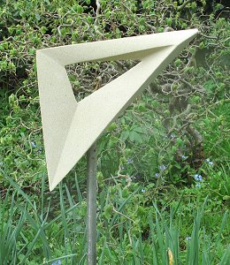 Jim Milner Geometric Sculpture Set Square