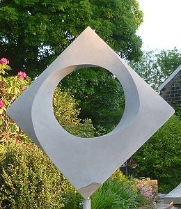 Jim Milner Geometric Sculpture Square 2